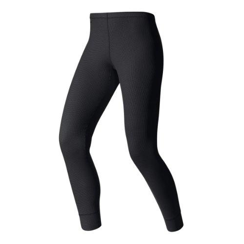 Odlo Damen Pants Cubic Unterhosen Lang Da, Ebony Grey-Black, S