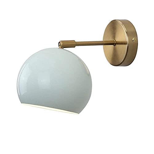 FGDSA Lámpara de Pared Lámpara de Lectura de Cama LED Minimalista Entrada de Dormitorio Pasillo de Restaurante Espejo de cabecera de Hotel Mesa de luz de Pared Frontal Gabinete con Espejo.