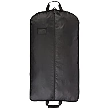 AmazonBasics Travel Garment Bag, Black