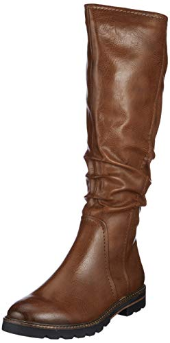 MARCO TOZZI Damen 2-2-25611-23 Hohe Stiefel, Braun (Cognac Antic 310), 37 EU