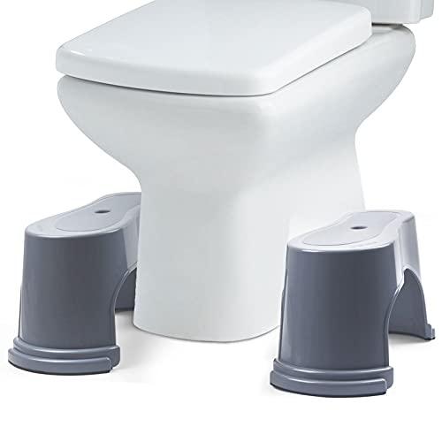 Evron 7 inch Bathroom Toilet Stool,2 Separate Potty...