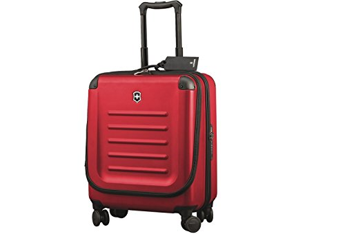 Victorinox Spectra 2.0, Dual-Access-Extra-Kapazität, Carry-On, 4-Rad-Trolley-Gehäuse, In Rot {37 Liters}