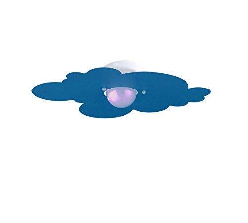 Plafoniera per Camerette Stanzette Bambini Modello Nuvola Azzurro