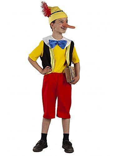 DISBACANAL Disfraz Pinocho Infantil - 10 año
