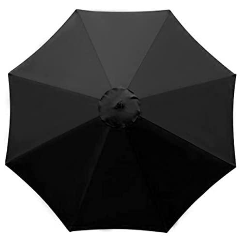 RTSFKFS Sonnenschirme 9.8ft / 3 m Parasol-Regenschirm-Ersatz-Baldachin-Abdeckung 8 Rippen Markttisch-Regenschirm-Baldachin wasserdichtes Anti-Ultraviolett-Regenschirm-Ersatzstoff (Color : E)