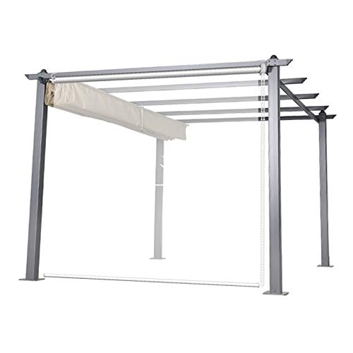 Transparente Persianas Exterior Kiosko Cortinas Transparentes con Herrajes, 100% Impermeable Sombra Enrollable para la Fábrica de la Oficina de la Cocina del Balcón, 60cm/80cm/100cm/120cm/140cm/160cm