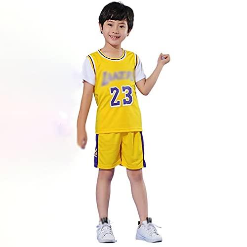 LISM 2121 Nuova Maglia Da Basket Per La Casa, Maglia Da Basket N. 24, Maglia Della Squadra Di Basket, Maglia Da Basket Per Bambini Personalizzata, Maglietta + Pantaloncini