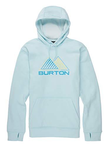 Burton Mens Oak Pullover, Iced Aqua Heather, Medium