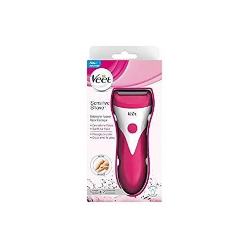 VEET Lot de 2 Sensitives Shave™ Rasoir électrique femme Jambes et Aisselles