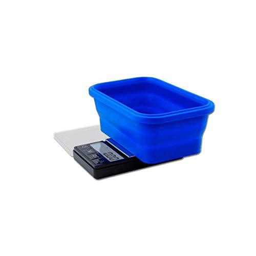 On Balance SBS-1000 - Báscula digital con carcasa de silicona (1000 g/0,1 g)
