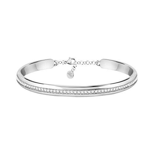 Morellato Bracciale da donna, Collezione Cerchi, in acciaio, cristalli - SAKM72