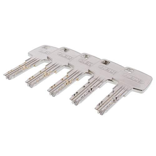 5x zusätzlicher Schlüssel zum gewählten ABUS EC660 Türzylinder