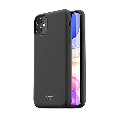 Xvida Basics - Funda magnética ultrafina para iPhone 11 Pro Slim TPU Case Magnetic Negro