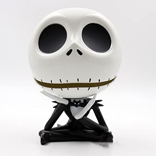 Jinwe Jack Skellington Ornaments, Nightmare Before Christmas Office or Home Decoration, Mini Storage Box