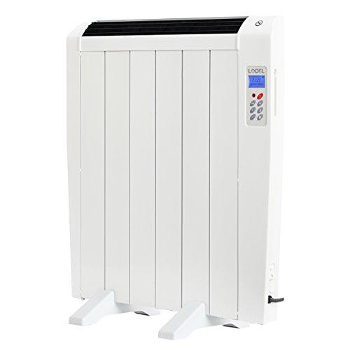 Lodel RA6 - Radiateur thermique numérique de faible puissance, 900W de puissance, 6 éléments, programmable, ultra-mince et design léger