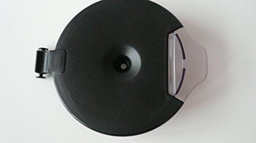 Braun Aroma Kannendeckel mit Klappe KF32 KF36 KF37 KF43 KF43T KF47 KF63 KF67, (Farbe: Schwarz)