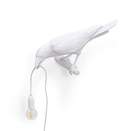 HXZB lampenkap van hars, voor wandlampen Nordic Art Decor Casa Uccello Wand Sconces Living Animal Camera Luminaire