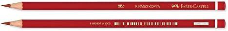 Faber-Castell Kırmızı Kopya Boya Kalem (Fsc)
