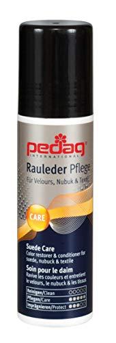 Pedag Suede Color Restorer, German Made, Applicable Indoors, Black, 2.6 Ounce