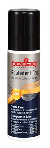 Pedag Suede and Textile Color Restorer, German Made, Applicable Indoors, Black, 2.6 Ounce