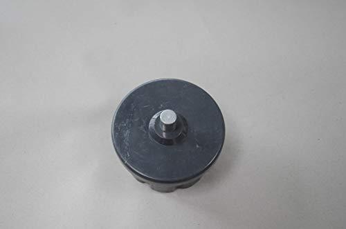 Vana Vana Deutschland Gmbh Markise accesorios & piezas de repuesto para toldo, cápsula de onda, eje de rollo redondo y cuadrado, 60 mm de color negro
