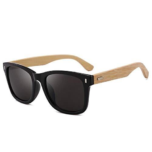 U/A 2Pcs Gafas De Sol Clásicas De Bambú Vintage Para Hombre Y Mujer, Decoración De Uñas, Espejo De Conducción, Gafas De Sol, Sombras De Madera Retro