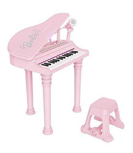 ODS 45005 Barbie, pianoforte a coda con sgabello e tanti accessori