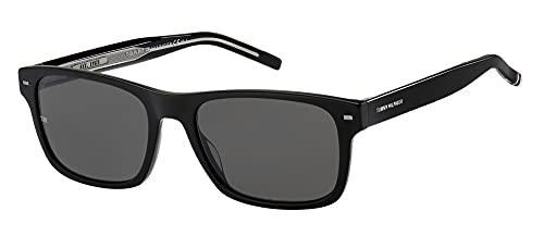 Tommy Hilfiger Gafas de Sol TH 1794/S Black/Grey 55/19/145 hombre