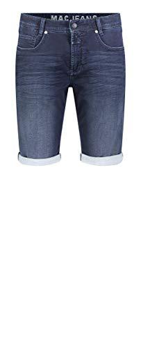 MAC Jeans Herren Jog'N Bermuda Shorts, Blau (Dark Indigo Authentic 3D Used H726), W36 (Herstellergröße: 36/10)