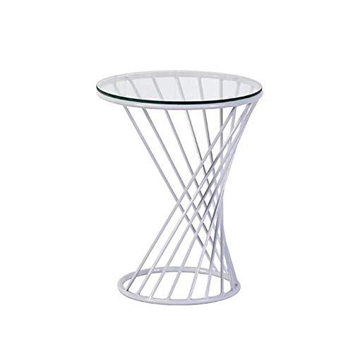 Coffee Table. Small Round Table. Small Square Tabl -Tables Beistelltisch, Sofa & Konsolentische Tische Spirale Design Metall Beistelltisch Runde Sofatisch Nachttisch, 2 Größe, 3 Farben Couchtisch