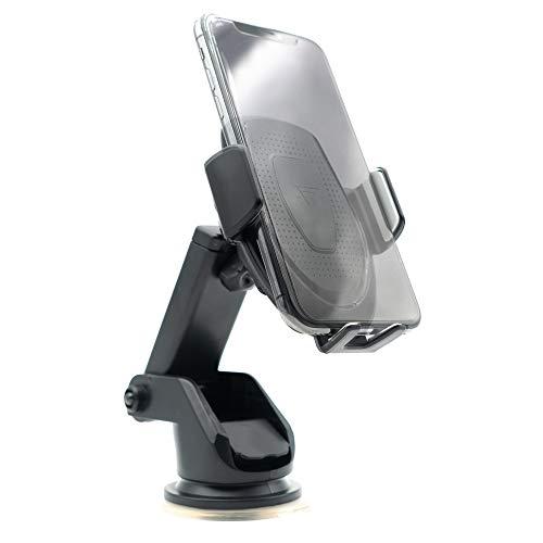 Austrian7 - Adaptador USB para Cargador de Coche (12 V, con luz LED Azul e indicador de Carga Rojo, Funciona con Cualquier Dispositivo, Cargador de Coche, Cargador de Coche)