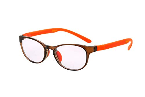 FLOAT BIFOCAL フロート バイフォーカル (二重焦点) テンプル(腕)のカラーを選べる グッドデザイン賞受賞のオシャレな老眼サングラス 鯖江企画 老眼小玉レンズ搭載 驚きの掛け心地 首にも掛けれる 超軽量 モデル:リーフ (リーフ +オレンジ,
