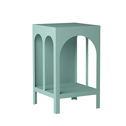 Jcnfa-Tables Sofa Side Cabinet, Multifunctional Square Arch, Creative Little Coffee Table, Flower Stand/Shelves/Furniture Display Stand/pet Stand, 2 Colors
