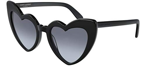 Saint Laurent Sonnenbrillen LOULOU SL 181 BLACK/GREY SHADED Damenbrillen