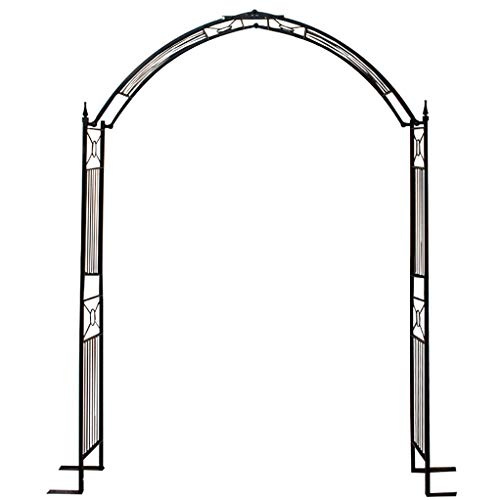 RuBao Metal Wedding Archway Arbor Djustable for Climbing Plant,Anti-rust Sturdy Outdoor Garden Arch,Decoration Garland/Balloon Archway Outdoor Lawn Stage