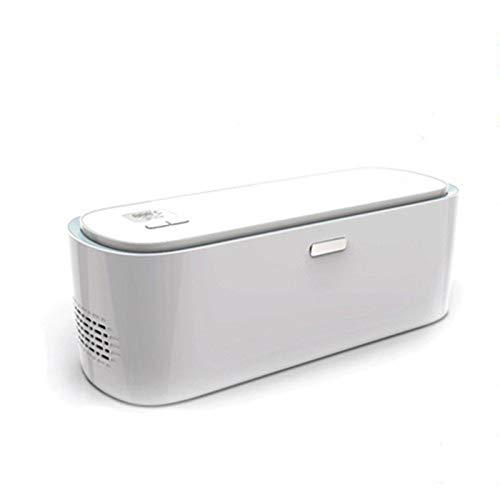 TWW Réfrigérateur Réfrigérateur Boîte Réfrigérateur Portable Petit Réfrigérateur Portable Voiture Maison Mini Réfrigération Voiture Fournitures Maison Voiture Double Usage