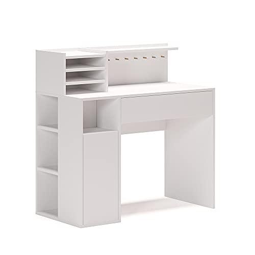 Vicco Schreibtisch Basteltisch Arbeitstisch Maltisch Ablagen Werkbank Bürotisch