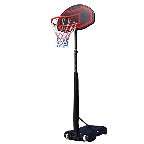 LiChenYao Aro de Baloncesto Exterior, Objetivos de Baloncesto Ajustables Juego de Baloncesto Spalding, Mini aro para niños Juventud Baloncesto al Aire Libre en Interiores