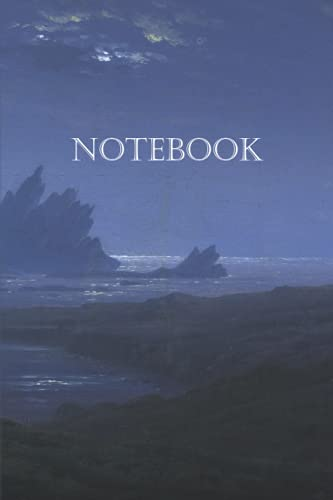 Notebook – Rocky reef on the sea shore: 100-page notebook with artistic cover (Caspar David Friedrich Notebooks)