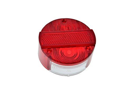 Rücklichtkappe rund passend für Simson S50 S51 SR50 KR51 mit E-Prüfzeichen