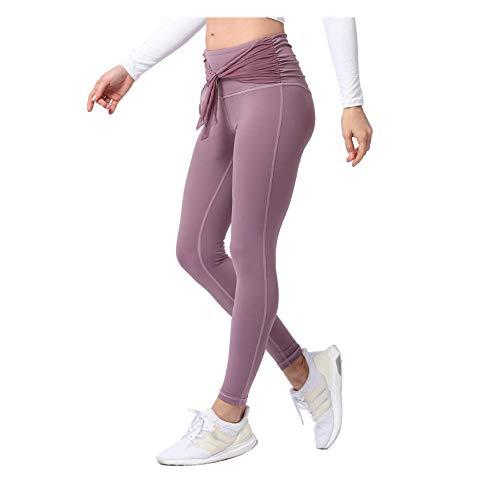 WUXEGHK Medias Mujer Deportes Fitness Leggings Pantalones De Yoga De Cintura Alta Nylon Gymshark Leggings Ropa Deportiva Para Mujeres Jogging Femme