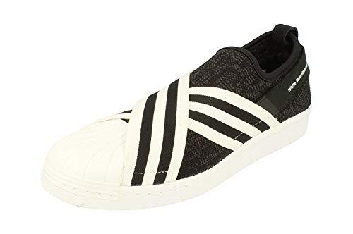 adidas Originals White Mountaineering Wm Superstar Slip On PK Herren Sneakers (UK 9.5 US 10 EU 44, Black White BY2880)