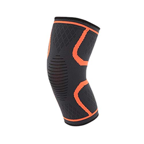 Kniebandage Sport für Damen Männer, 2 Stück Kompression Knieschoner Kniestütze Knie Bandage Knee Support, Rutschfest Atmungsaktiv Knieschützer gegen Knieschmerzen (M, Multi)