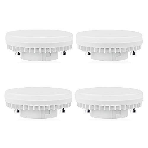 GX53 LED-Leuchtmittel, Kunststoff, Kaltweiß, GX53, 7.00W 240.00V