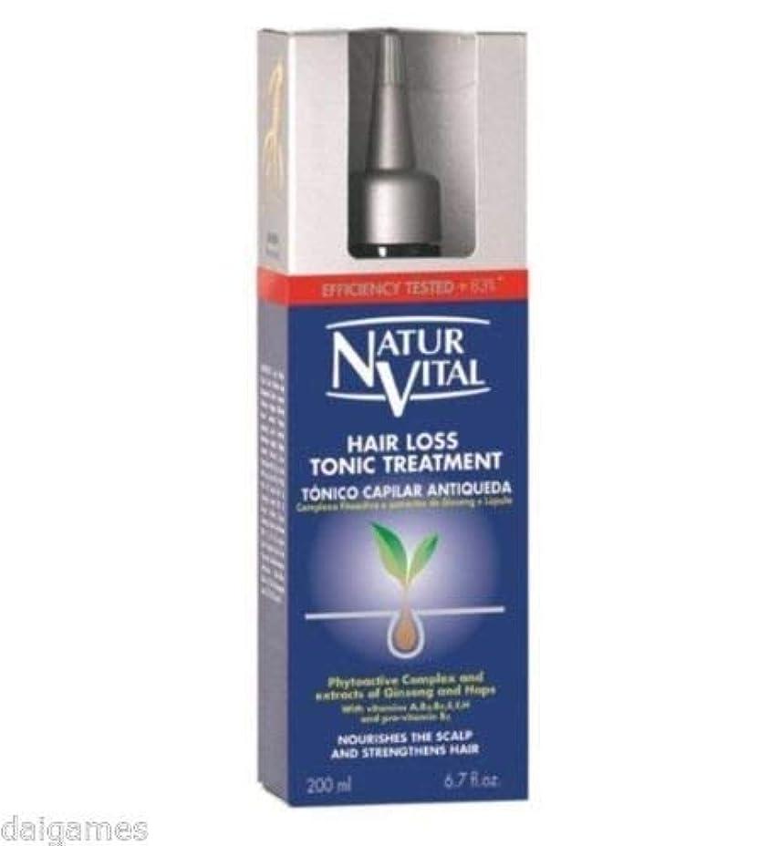 避難ベルベット商品NATURVITAL 抜け毛トリートメントトニック200は、脱毛の症状を戦うmlの