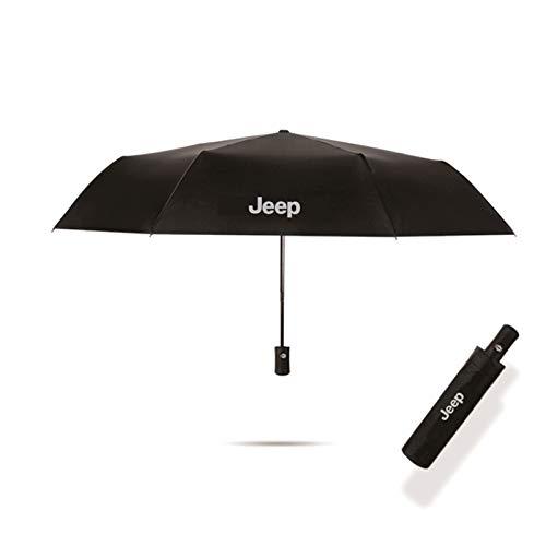 YEEXCD Auto Styling Dreifache Doppelschicht Regenschirm Winddicht Automatische Sonnenstrand Regenschirm Für Jeep