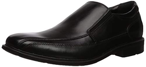 Kenneth Cole New York Men's Len Slip On Loafer, Black, 11 M US