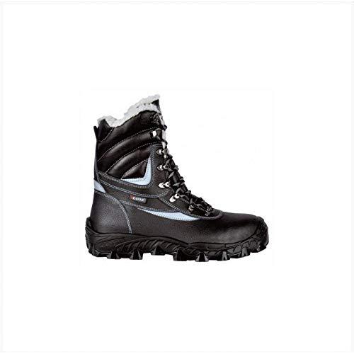 COFRA Sicherheitsstiefel New Barents S3 CI SRC Gr.43, Arbeitsschuhe und Sicherheitsschuhe Schwarz, Arbeitsschutzschuhe, Winter