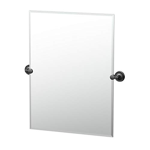 espejo sin marco rectangular de la marca Gatco