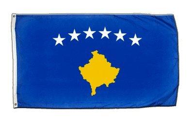 XXL Flagge Fahne Kosovo 150 x 250 cm